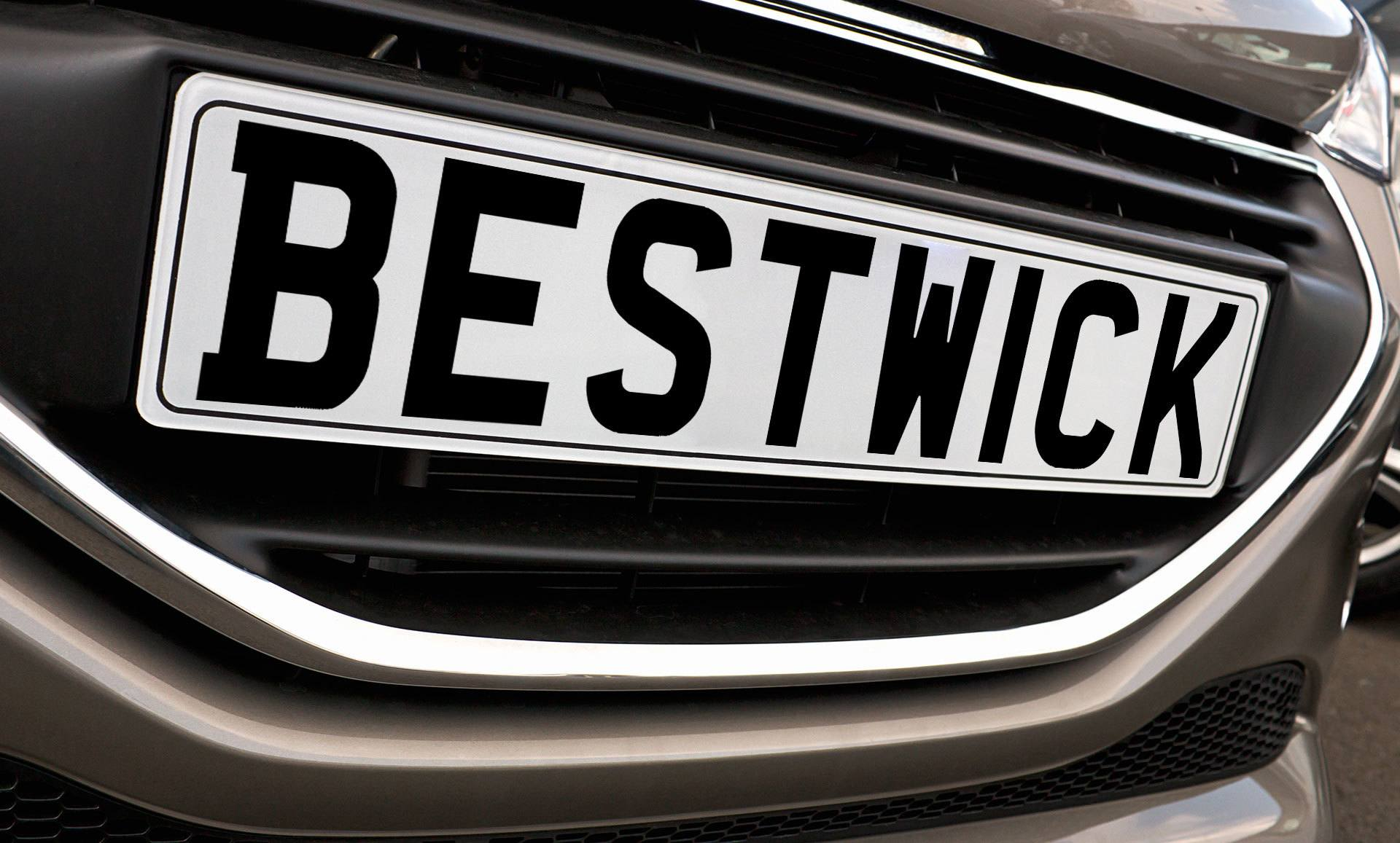 Vehicle Number plates made while you wait in Allenton Derby | Bestwicks